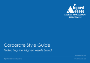 Aligned Assets Artwork - style guide Icon