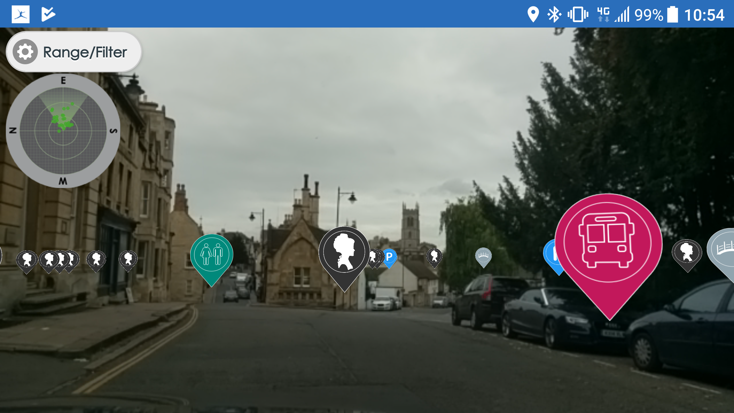 Stamford Georgian Festival Augmented Reality
