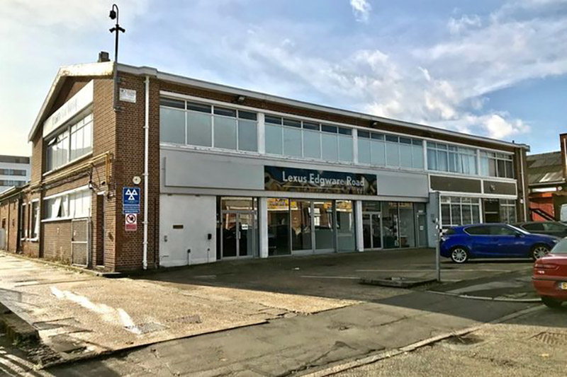 commercial unit on business park