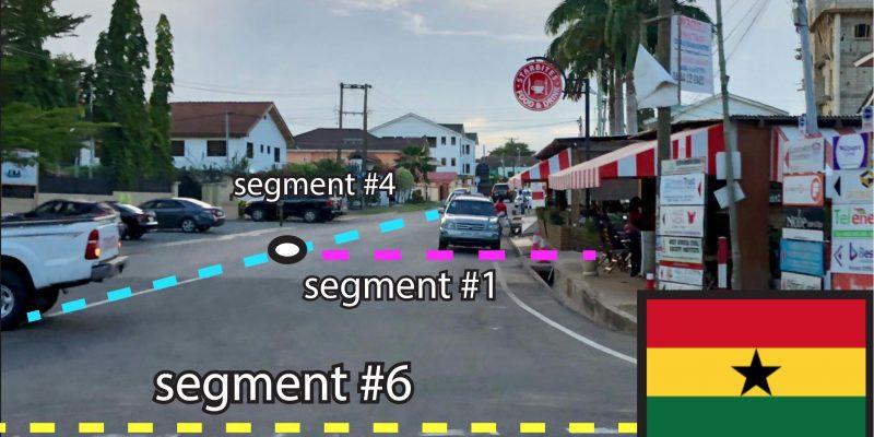 Street scene w segments